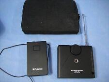 Polaroid Spectra Camera Remote Control 7030 Receiver & 7020 Transmitter + Case