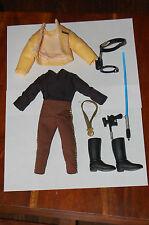 """Luke Skywalker Ceremonial 12"""" Outfit-Hasbro-Star Wars 1/6 Scale Custom Side Show"""