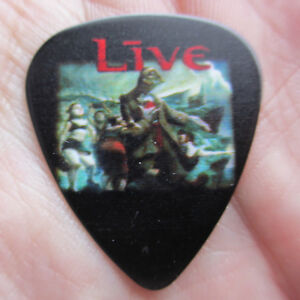 LIVE Collectors Guitar Pick 'Throwing Copper' (Heavy Alternative Rock Band)