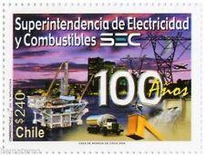 Chile 2004 #2148 100 años Superintendencia de Electricidad y Combustibles MNH