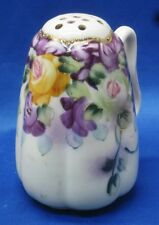 Antique Hand Painted NIPPON Gold Moriage Handled SUGAR SHAKER MUFFINEER