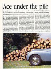 1939 AC Ace Original Car Review Print Article J658