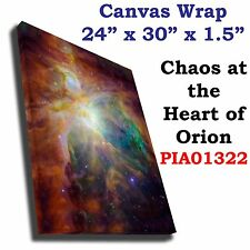 Chaos at the Heart of Orion Hubble JPL NASA space telescope Canvas art print