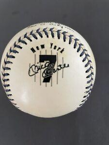 Mickey Mantle Rawlings Commemorative Souvenir Baseball 8/25/1996.Unsigned.