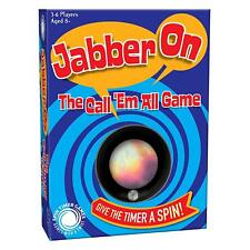 Spin Timer Jabber On - The Call Them All Categories Party Game - Cheatwell Games