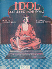 IDOL (JUST LET ME WORSHIP YOU) Music Sheet-1919-ROSE/COBURN-SPINELLI Artwork