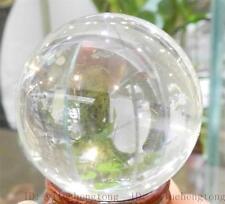 Asian Rare Natural Quartz Clear Magic Crystal Healing Ball Sphere 40mm + Stand
