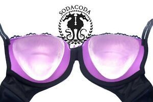 Sodacoda 175g/Pair Triangle Silicone Inserts Breast Enhancers for Bras