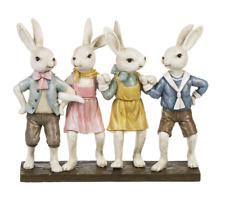 Easter Bunny Rabbits Bunnies Bunny Kids Resin Figurine