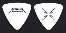 Metallica Robert Trujillo Beyond Magnetic White Bass Guitar Pick - 2012 Tour