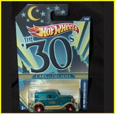 G1 METALLIC '32 Ford Sedan POSTAL SERVICE Hot Wheels CARS Of The DECADES -SEALED