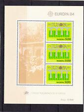 MADEIRA S/S EUROPA CEPT  1984  MNH