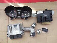 FORD FIESTA MK7 1.6 TDCI ENGINE ECU KIT AV21-12A650-RE   #FF 147