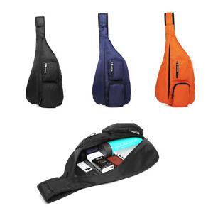 Shoulder Single Strap Bag Cross body Sling Backpack Sports Rucksack Chest Bag