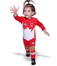 AFL Toddler Baby Sydney Swans Footysuit Jumpsuit Unisex