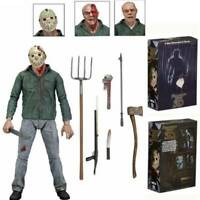 """NECA Friday the 13th Part 3 III 3D Jason Voorhees Ultimate 7"""" Action Figure 1:12"""