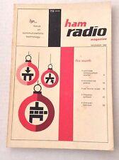 Ham Radio Magazine Solid State Communication Receiver December 1969 121916rh