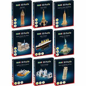 Choose Revell 3D Puzzle Mini Collection Interlocking Foam Piece Various Kits