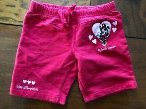 Walt Disney World girls shorts size XXS