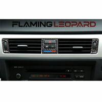 Carbon Fiber Air Condition Outlet Frame Trim For BMW 3-Series E90 E92 E93 05-12