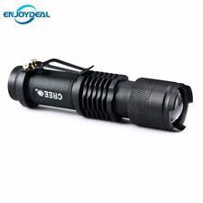 NUOVO Mini Torcia 2000 LM CREE Q5 LED Torcia AA/14500 Zoom Regolabile Focus