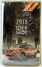 New listing 2015 Dodge Grand Caravan User Guide Owners Manual Case ~ New ~ Oem *Ships Free*
