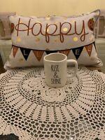 """RAE DUNN """"RISE & SHINE"""" MUG COFFEE TEA MUG ARTISAN COLLECTION BY MAGENTA"""