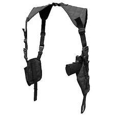 Condor Tactical Vertical Shoulder Holster & Double Mag Black #ASH