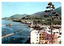 Lacco Ameno Postcard Italy The Beach and Fungus Marina Fungo Champignon
