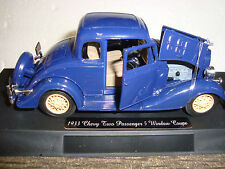 G-SCALE 1/32 1933 Chevy Two Passenger 5 Window  Diecast & Detailed NEW RELEASE!!