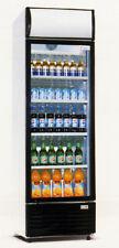 OW Getränkekühlschrank mit 300 Litern Volumen und Glastür