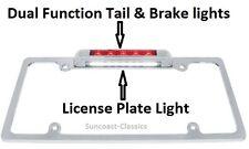 License Plate Frame LED Third Brake Light /Tail & Plate Light Pickup Truck