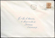 """GB 1986 """"A Happy Christmas The Post Office"""" Slogan Cover #C25349"""