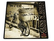 Guns N' Roses Signed Chinese Democracy Record Robin Finck Nine Inch Nails Nin