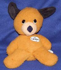 "12"" Animal Fair Vintage Plush Puppy Dog BENNY Henry Friend 1975 Rare & HTF"