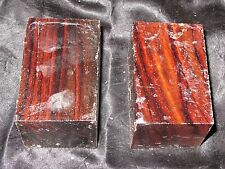 COCOBOLO TURNING BLANKS-2X2X3-2 PCS W/FREE SHIPPING-EXOTIC WOOD
