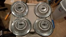 Vintage 1967 Camaro SS 396 Hubcaps - original and near perfect