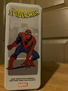 Dark Horse Spider-Man Statue NYCC Exclusive Marvel Character Tin