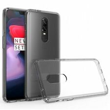 COVER CUSTODIA PER  ONEPLUS 6 ONE PLUS 6 TRASPARENTE SOTTILE ULTRA SLIM