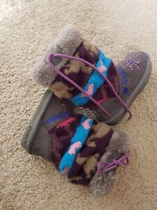 Baby Sketchers Twinkle Toes Light Up Boots/ Girls Boots/ Infant Boots/ Size 4