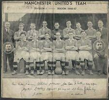1946-1947 MANCHESTER UNITED FOOTBALL CLUB