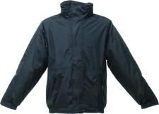 Regatta TRW297 Professional Fleece Lined Dover Bomber Jacket - Black/Ash