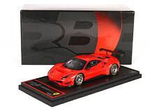 Ferrari 488 GT3 Rosso Scuderia 323 lim.ed. 24 pcs 1/43 BBRC180RS  Bbr Models