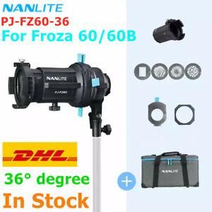 Nanlite 36° Focusing Optical Spotlight Snoot Zooming Lens Light For Forza 60 60B