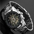 Esqueleto Relojes Automáticos Para Hombre Acero Inoxidable Reloj De Pulsera