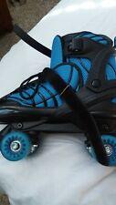 Dbx Girls' Express Adjustable Blue Roller Skates Euc
