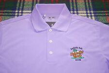 Adidas Gentlemen Jack Daniels Bushwacker Classic Golf Polo Shirt Mens S Purple