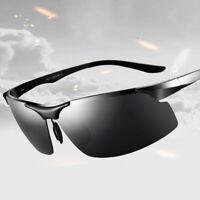 Aluminum HD Polarized Photochromic Sunglasses Men Sports Transition Lens Eyewear