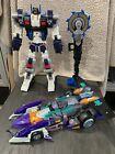 Hasbro Transformers Cybertron Lot: Metroplex And Megatron
