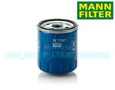 Mann Hummel repuesto de calidad OE Filtro de aceite del motor W 716/1